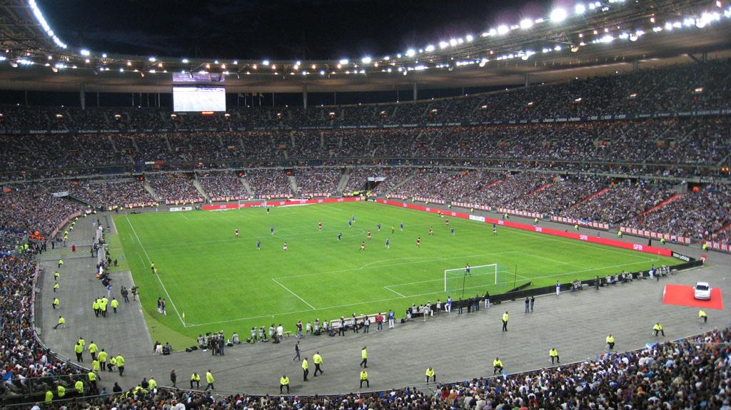 10 ans France 98 au Stade de France