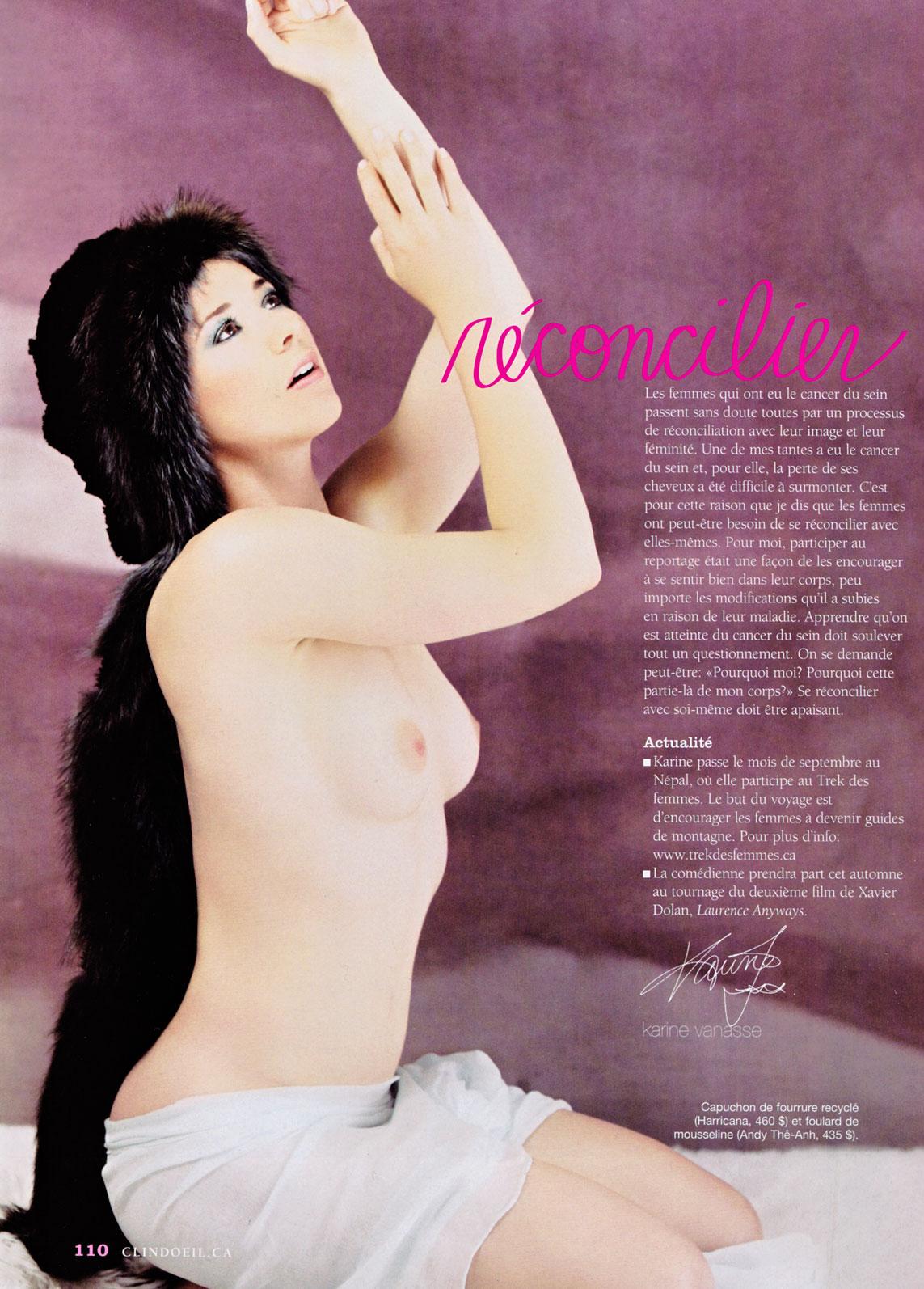 Vanessa paradis topless