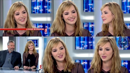 Louise Bourgoin   JT 20h France 2 11.04.10 (photos)