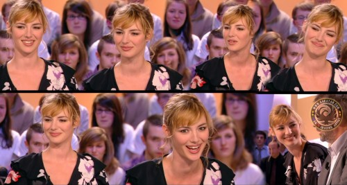 Louise Bourgoin   le Grand Journal 08.04.10 (photos)