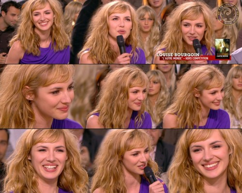 Louise Bourgoin   Grand Journal Cannes 17.05.10 (photos)