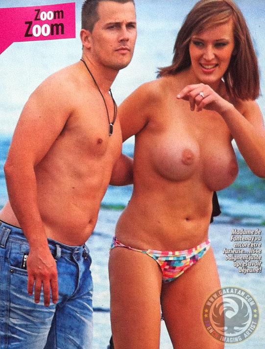 Cecile De Menibus Nude