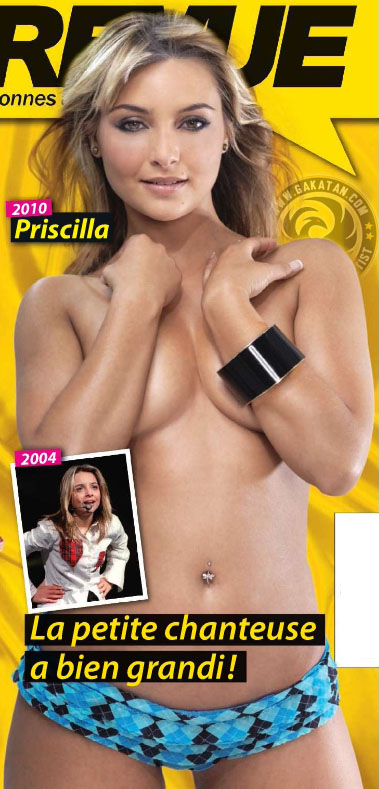 Priscilla nue (topless)   Entrevue Septembre 2010 218 (photos)