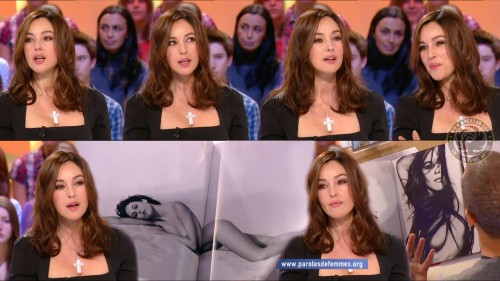 Monica Bellucci   Grand Journal 11.11.10 (photos)