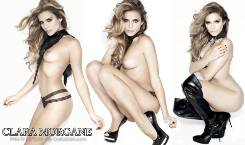 Clara Morgane nue   FHM Fr Decembre 2010 (photos)