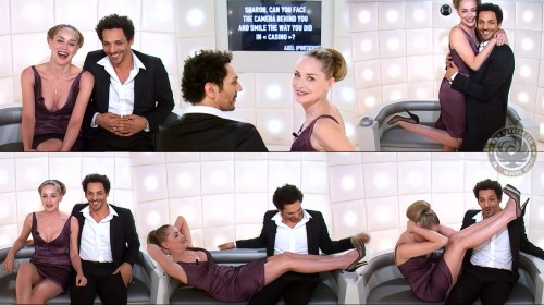 Sharon Stone sexy   Boite à questions Grand Journal 17.01.11 (video)