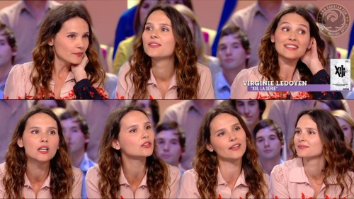 Virginie Ledoyen au Grand Journal 18.04.11 (photos)