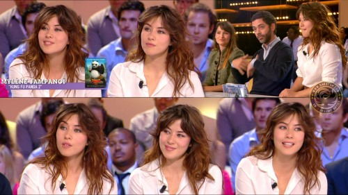 Mylène Jampanoï   Grand Journal 06.06.11 (photos)