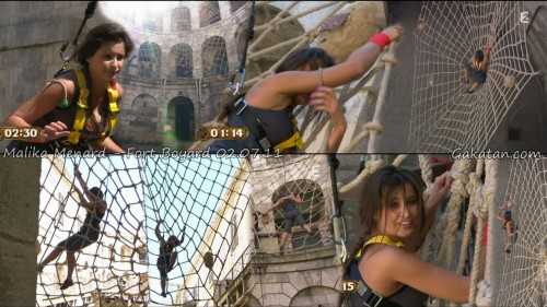 Les Miss France à Fort Boyard 02.07.11 (video photos)