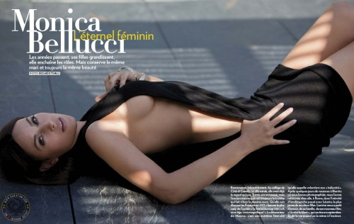 Monica Bellucci dans Paris Match 3246 (photos)