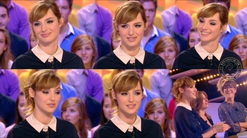 Louise Bourgoin   le Grand Journal 22.09.11 (photos)