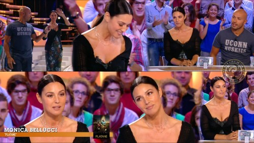 Monica Bellucci au Grand Journal 05.09.11 (photos)