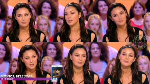 Monica Bellucci au Grand Journal 23.09.11 (photos)