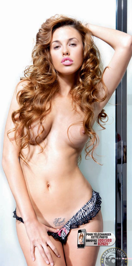 Vanessa Lawrens nue dans Newlook Octobre 2011 (photos)