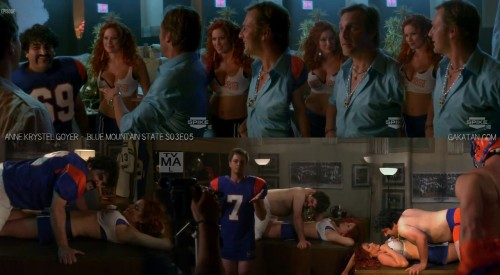 Anne Krystel Goyer dans Blue Mountain State S03E05 (photos)