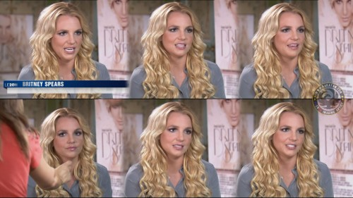 Britney Spears au JT de TF1 05.10.11 (photos)