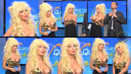 Cindy Bastien topless dans Question pour une cochonne (video)