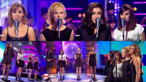 Alizee, Chimene Badi, Jenifer et Lorie   Mimicalement 17.12.11 (video)