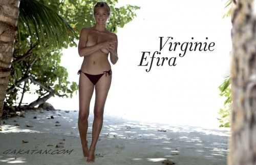 Virginie Efira nue (topless)   Paris Match 3266 (photos)