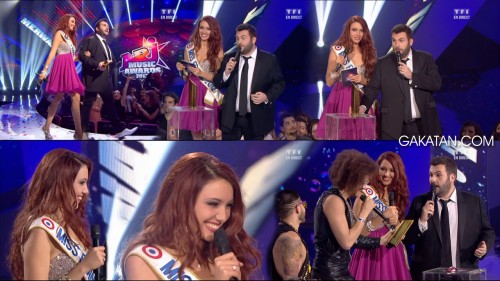 Delphine Wespiser aux NRJ Music Awards 2012 (photos)