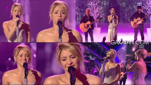 Shakira chante Je laime à mourir aux NRJ Music Awards 2012 (video)