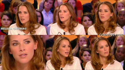 Melissa Theuriau au Grand Journal 07.02.12 (photos)
