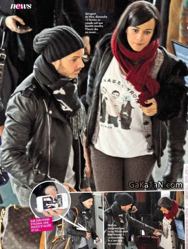 M Pokora et Alizée en couple dans Closer (photos)