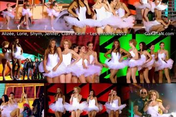 Alizee-Lorie-Shym-Jenifer-Claire-Keim-sexy-tutu-Les-enfoires-2012