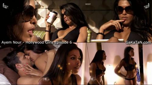 Ayem Nour et Laura Coll dans Hollywood Girls S01E06 (photos)