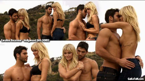 Caroline Receveur topless dans Hollywood Girls S01E12 (photos)