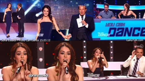 Sofia Essaidi dans You Can Dance NT1 15.03.12 (photos)