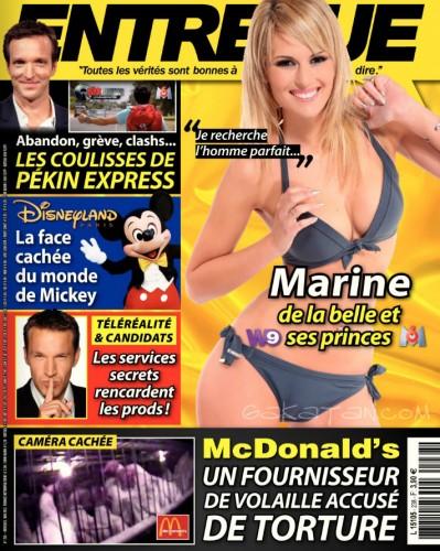 Marine de la Belle et ses princes dans Entrevue Mai 2012 (photos)