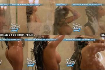 Nabila-nue-douche-Les-Anges-4-non-censure-240512