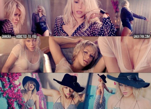 Shakira   Addicted to you (clip video)