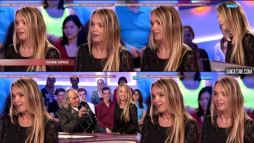 Virginie Caprice chez Morandini 10.05.12 (photos)