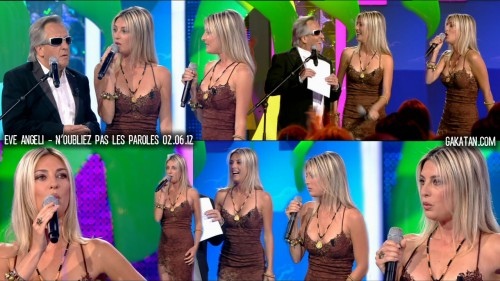 Eve Angeli dans Noubliez pas les paroles 02.06.12 (photos)