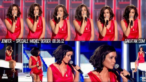 Jenifer chante Michel Berger sur TF1 08.06.12 (video)