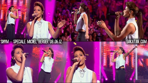 Alizee, Shym et Chimene Badi chantent Michel Berger 08.06.12 (video)