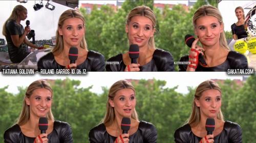 Tatiana Golovin   Roland Garros 10.06.12