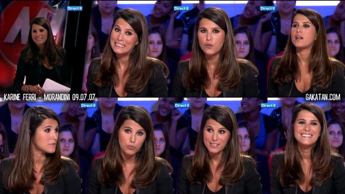 Karine Ferri chez Morandini 09.07.12 (photos)
