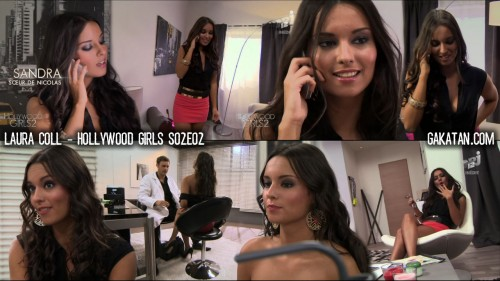Laura Coll dans Hollywood Girls S02E02 (photos)
