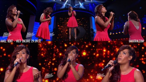 Amel Bent dans Hier encore 29.09.12 (photos)
