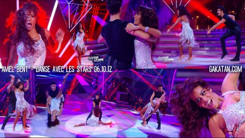 Amel Bent dans Danse avec les stars 06.10.12 (video)
