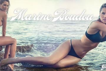 Marine-Boudou-nue-La-Belle-et-ses-princes-topless-plage-bikini