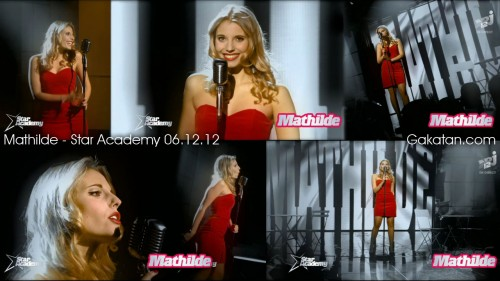 Mathilde dans Star Academy Révolution 06.12.12 (video)