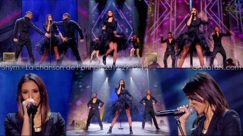 Shym dans La chanson de lannée 2012 29.12.12 (video)