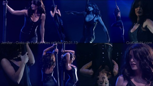 Jenifer au 51 eme gala de lunion des artistes 03.01.13 (video)