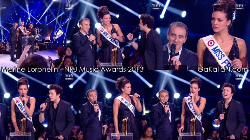 Miss France 2013 aux NRJ Music Awards 2013 (photos)