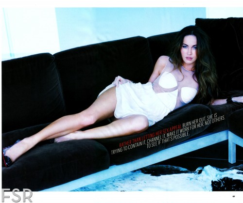 Megan Fox sexy dans Esquire Us Février 2013 (photos)