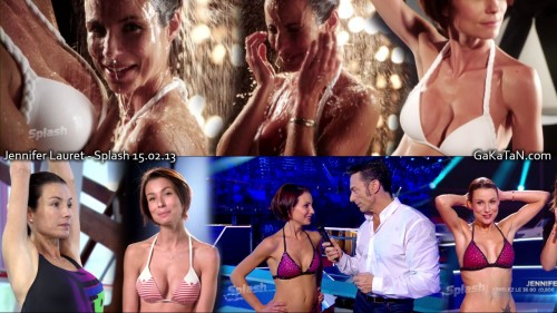Jennifer Lauret dans Splash 15.02.13 (photos)